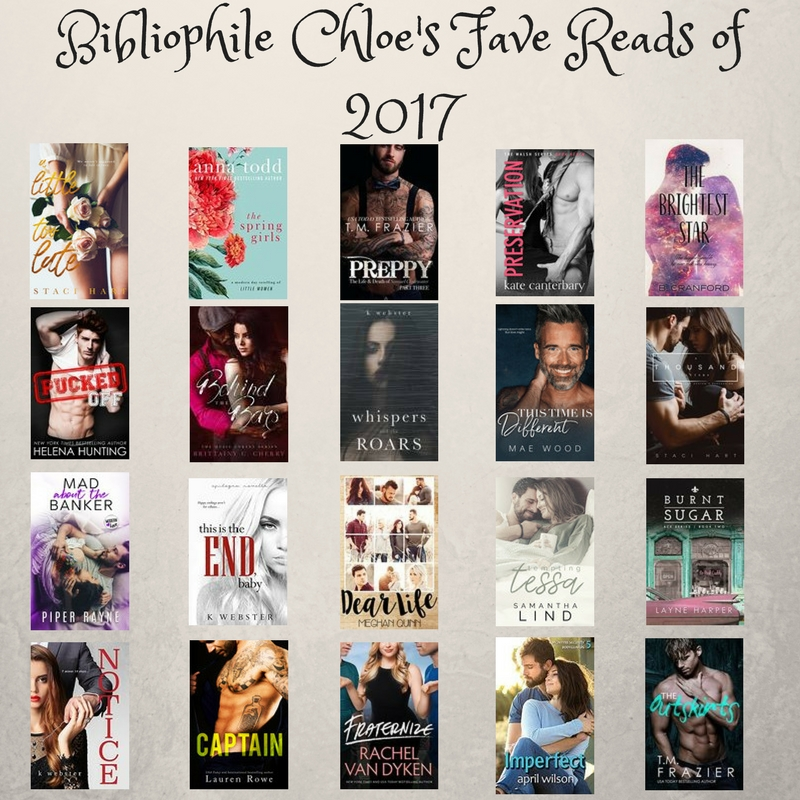 Fave Reads of 2017