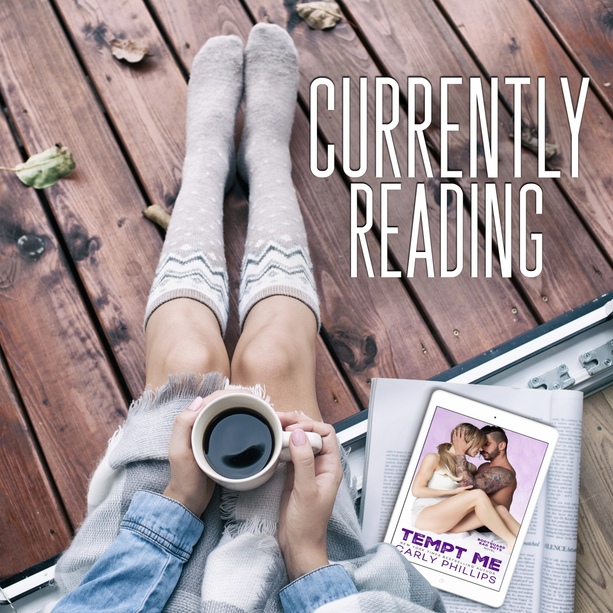 Currently Reading – Tempt Me by Carly Phillips