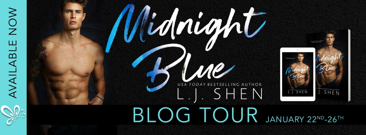 Blog Tour/Review – Midnight Blue by L.J. Shen
