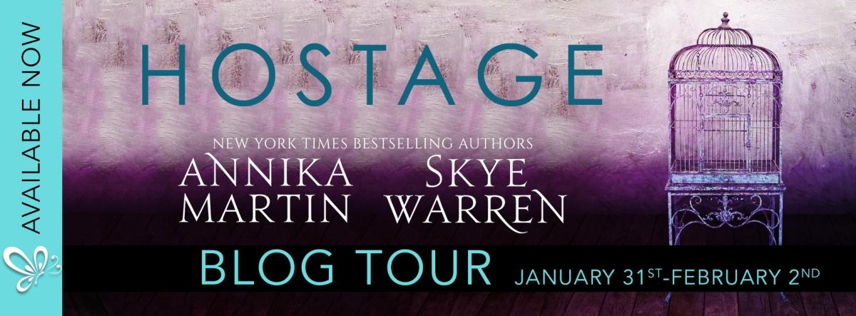 Blog Tour/Review – Hostage by Skye Warren and AnnikaMartin