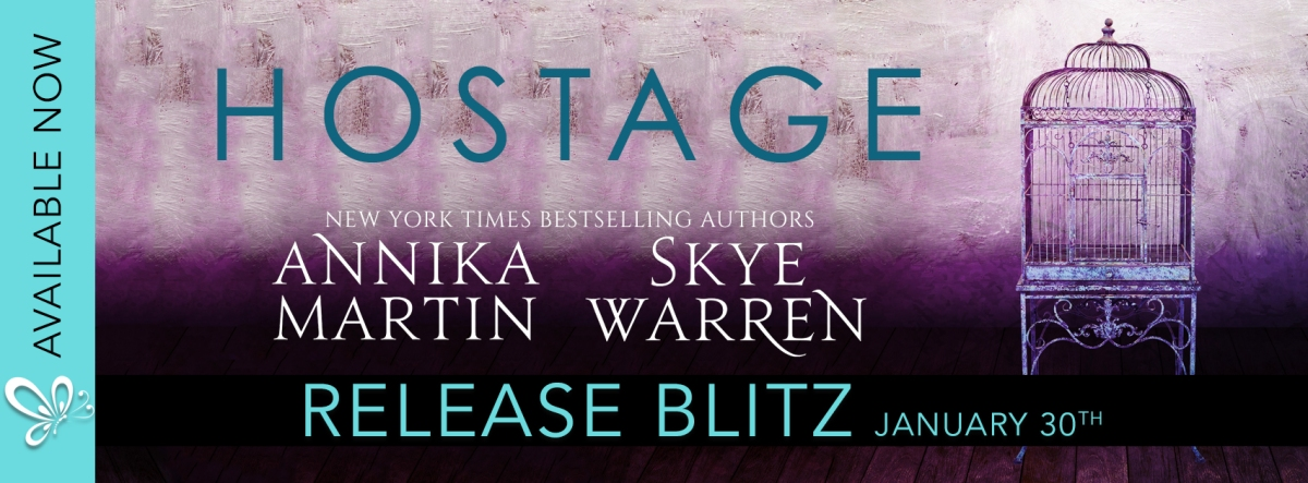 Release Blitz/Review – Hostage by Skye Warren and Annika Martin