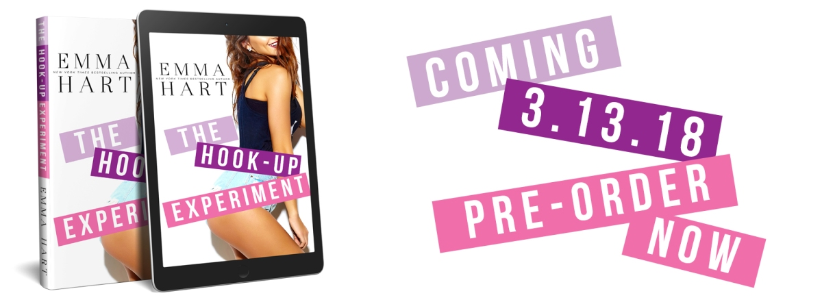 More Pretties!! Cover Reveal – The Hook-Up Experiment by Emma Hart