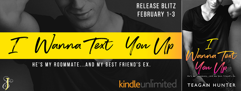 Release Blitz/Review – I Wanna Text You Up by Teagan Hunter