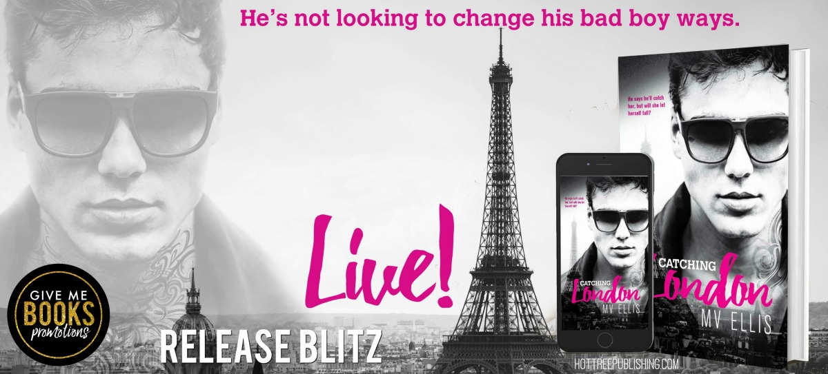 Happy Release Day & Review – Catching London by MVEllis
