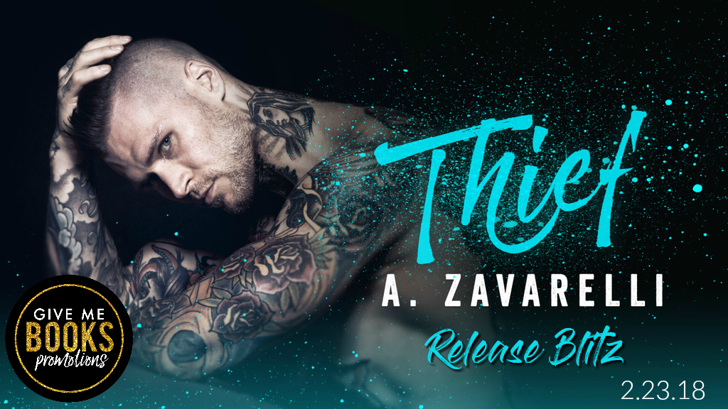 Release Day and Review! – Thief by A. Zavarelli