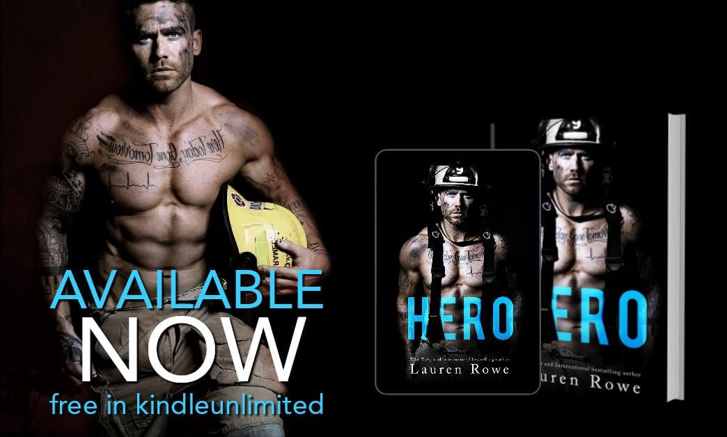 It's HERE! It's EARLY! Happy Release Day & Review – Hero by LaurenRowe
