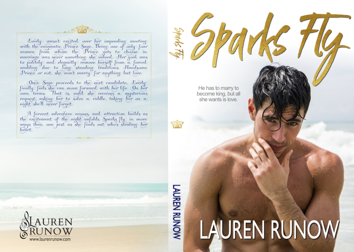 Cover Reveal! Sparks Fly by LaurenRunow