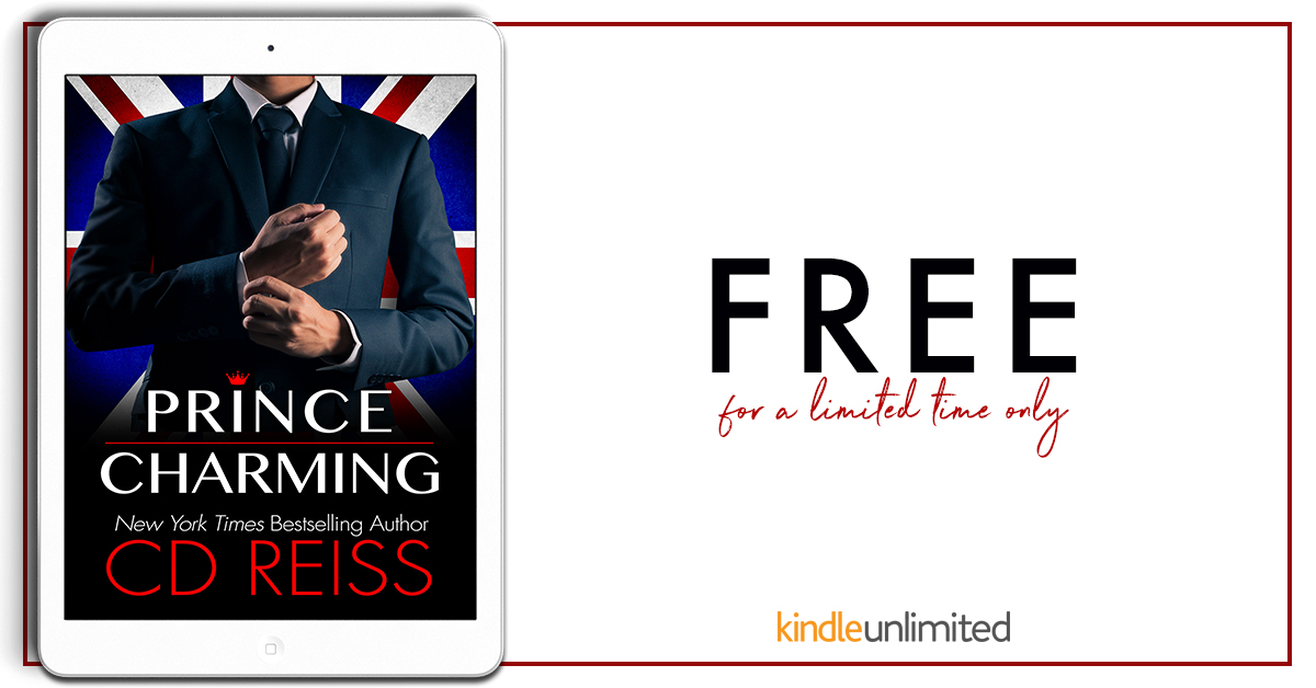 Love to post about FREEBIES!! Prince Charming by CD Reiss is FREE for a limited timeonly!