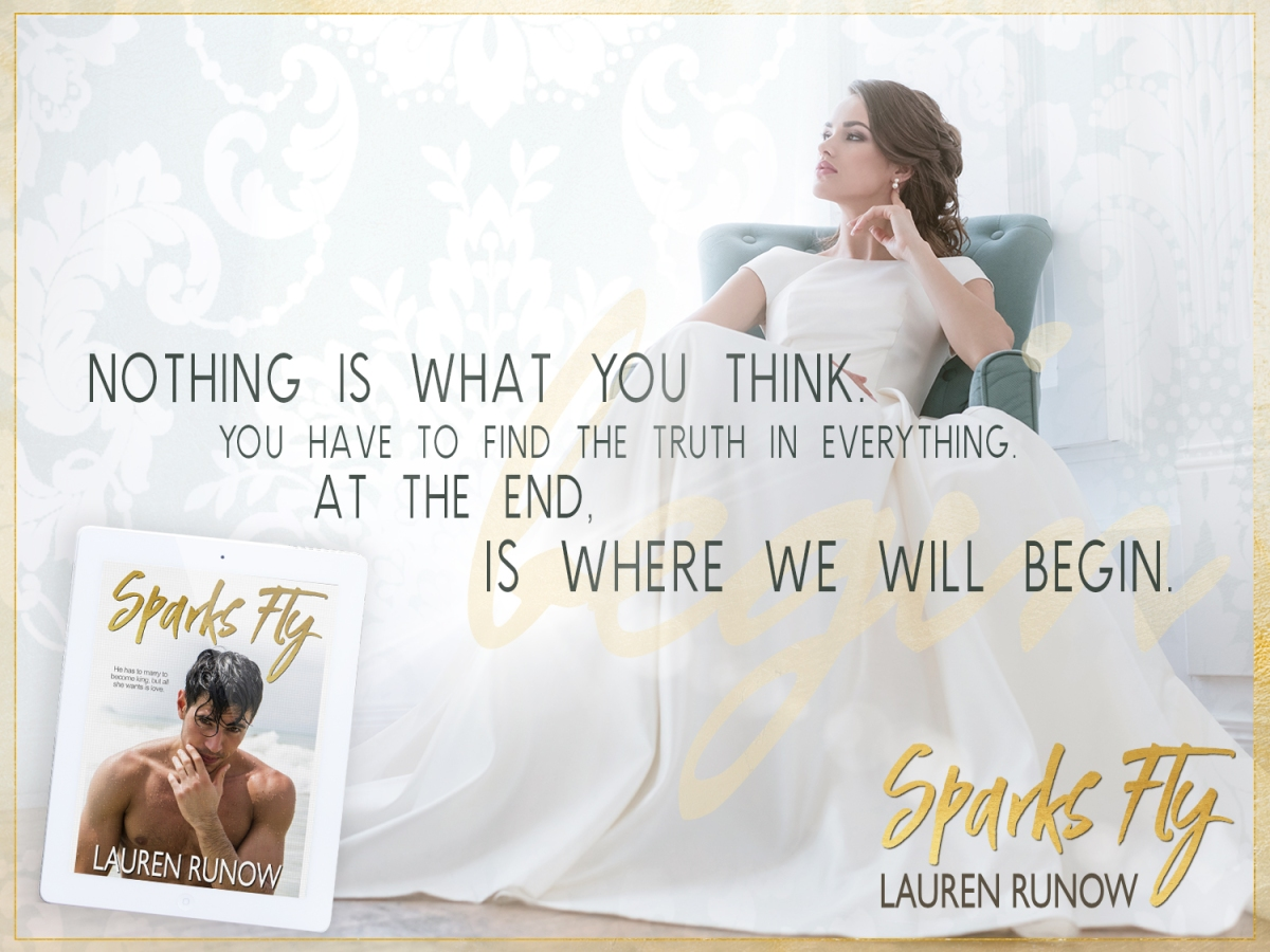 Release Boost! Sparks Fly by Lauren Runow