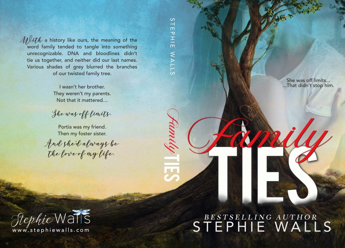 Double Dose of Goodness! Cover Reveal & Excerpt – Family Ties by StephieWalls