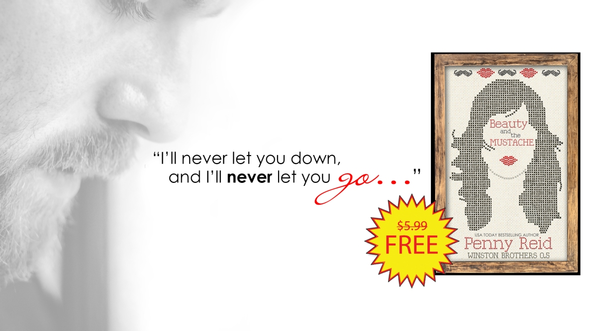 FREE!!! From Penny Reid! Beauty and the Mustache!