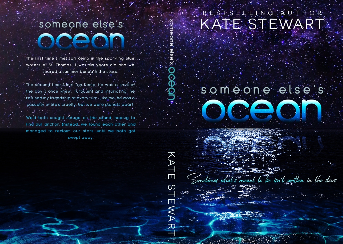 Cover Reveal!! Someone Else's Ocean by Kate Stewart