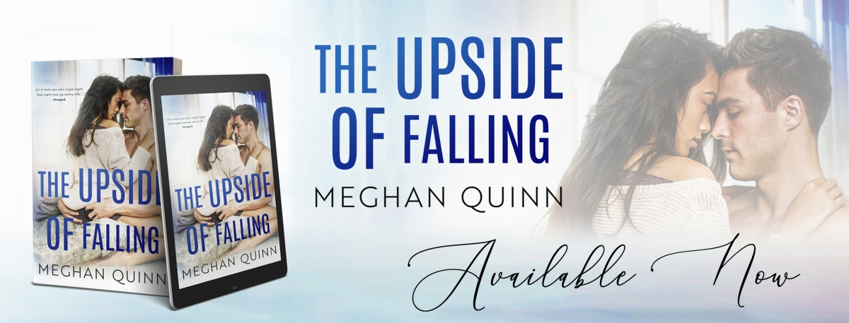 Release Blitz & Review – The Upside of Falling by MeghanQuinn