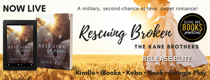 Happy Release Day & Review – Rescuing Broken by GinaAzzi