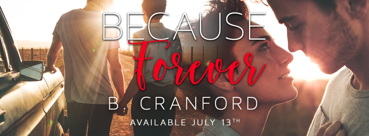 Happy Release Day & Review – Because Forever by B. Cranford