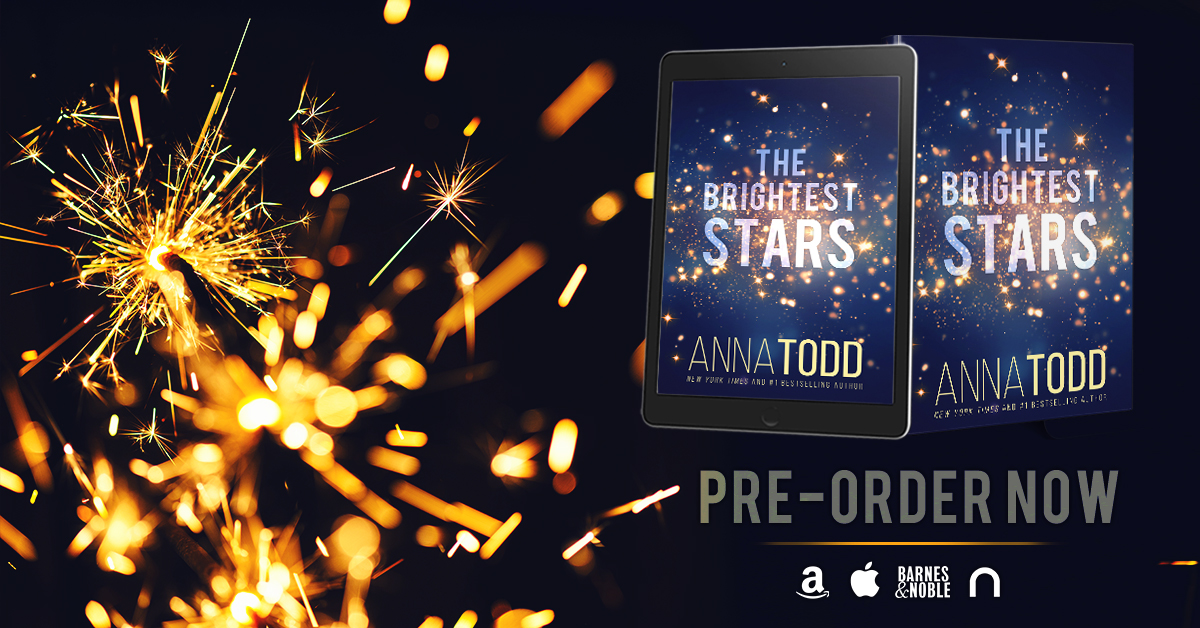 The Brightest Stars by Anna Todd is available for pre-order!