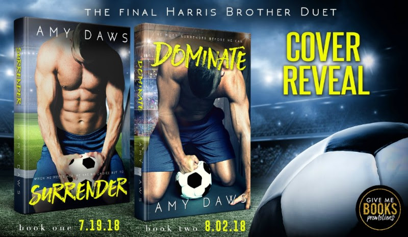 Cover Reveal!! The Final Harris Brother Duet By Amy Daws