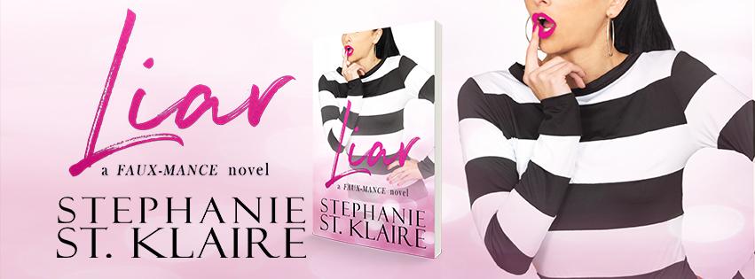 Cover Reveal!! Liar by Stephanie St.Klaire