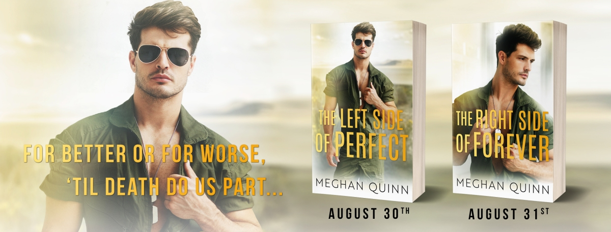 Wowza!! Double Cover Reveal!! The Left Side Of Perfect & The Right Side Of Forever By Meghan Quinn
