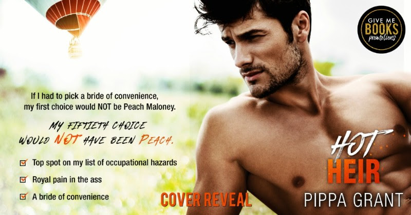 Cover Reveal!!! Hot Heir by Pippa Grant