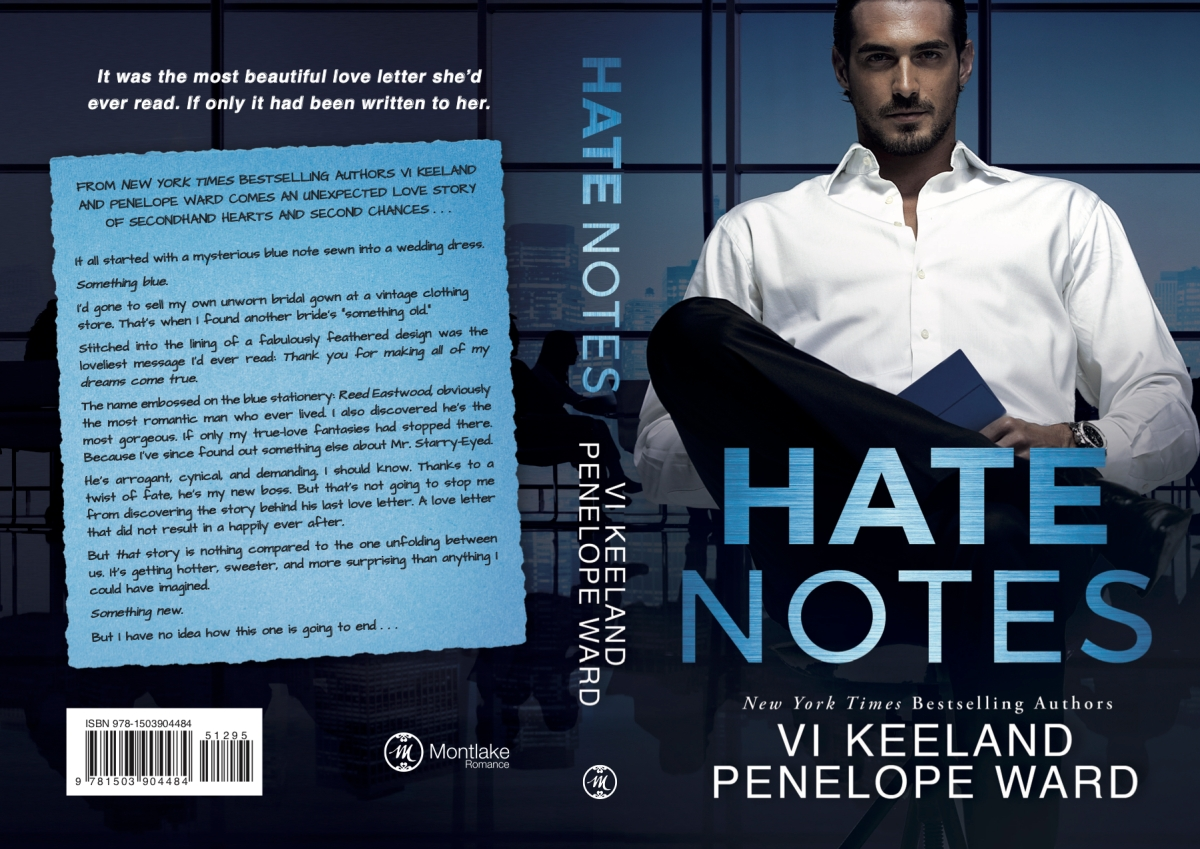 Cover & Synopsis Reveal! Hate Notes by Vi Keeland & Penelope Ward