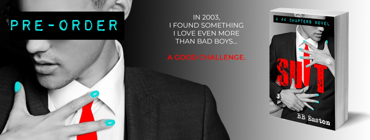 Cover Reveal!! Suit by B.B. Easton