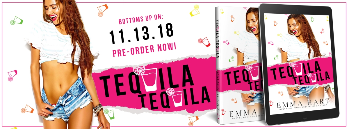 Cover Reveal!! Who wants a shot of…. Tequila Tequila by EmmaHart