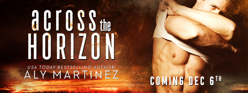 Cover Reveal!! Across the Horizon by Aly Martinez