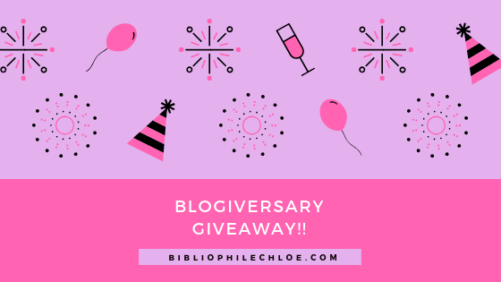 Blogiversary Giveaways!!! (This is just the start, I will have more!!)