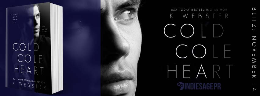 Happy Release Day & Review – Cold Cole Heart by K.Webster