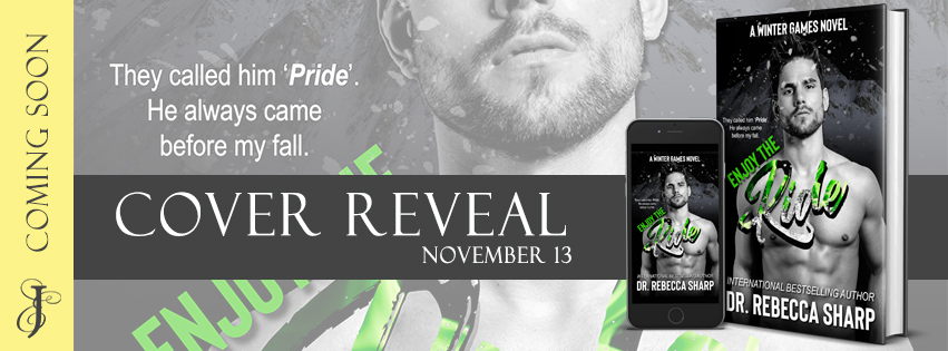 Cover Reveal!! Enjoy the Ride by Dr. Rebecca Sharp