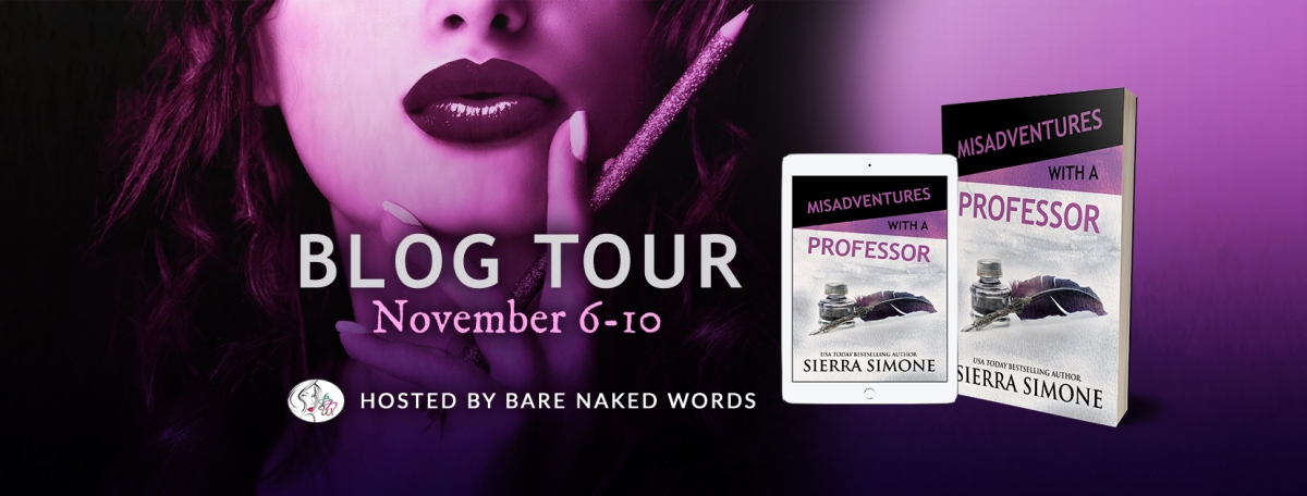 Blog Tour & Review!! Misadventures with a Professor – SierraSimone