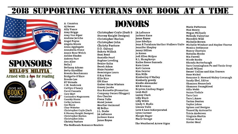 Supporting Veterans One Book At A Time Auction
