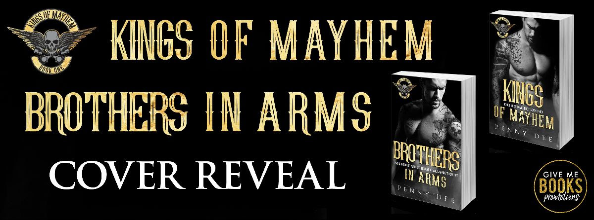 Cover Reveal!! Kings of Mayhem Series by Penny Dee
