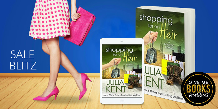 Who loves a sale?!? Shopping for an Heir by JuliaKent