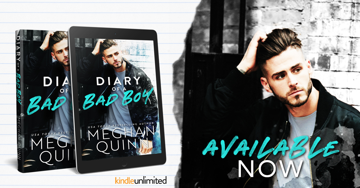 Happy Release Day & Review!! Diary of a Bad Boy by Meghan Quinn