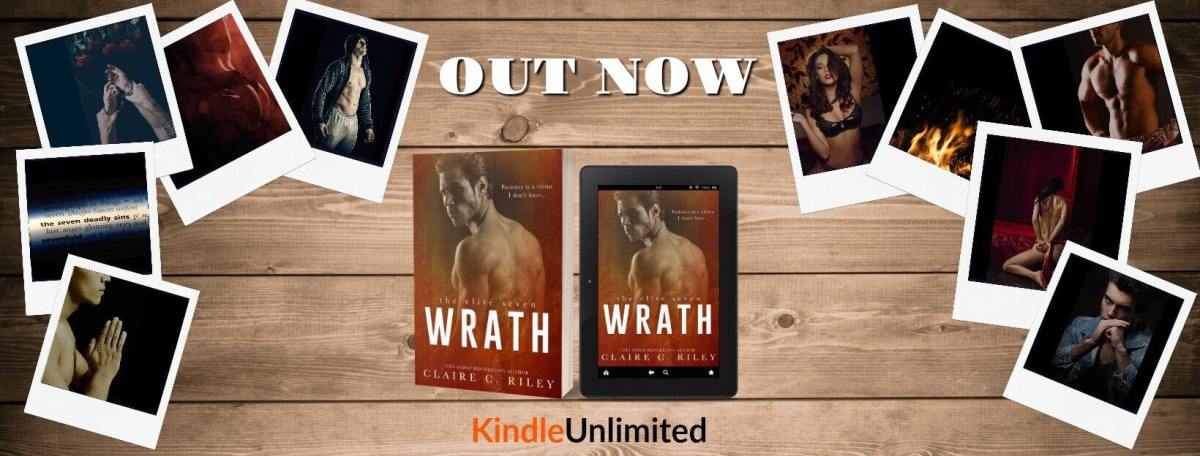Happy Release Day & Review! Wrath by Claire C. Riley