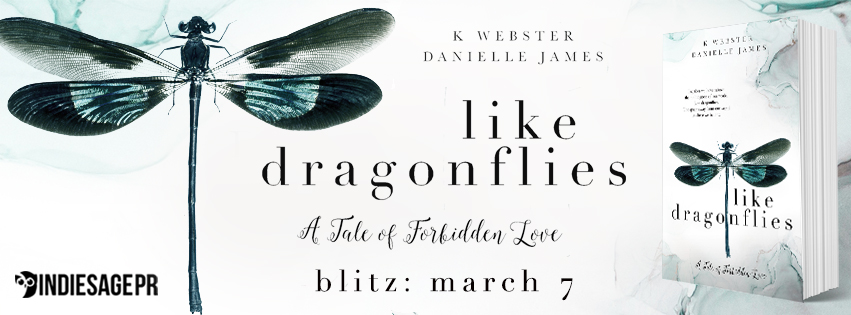 Happy Release Day & Review!! Like Dragonflies by K. Webster and Danielle James