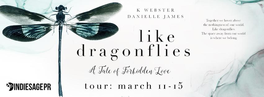 Blog Tour!! Like Dragonflies by K. Webster and DanielleJames!