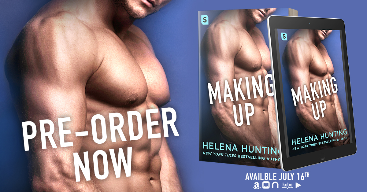Cover Reveal!! Making Up by HelenaHunting!
