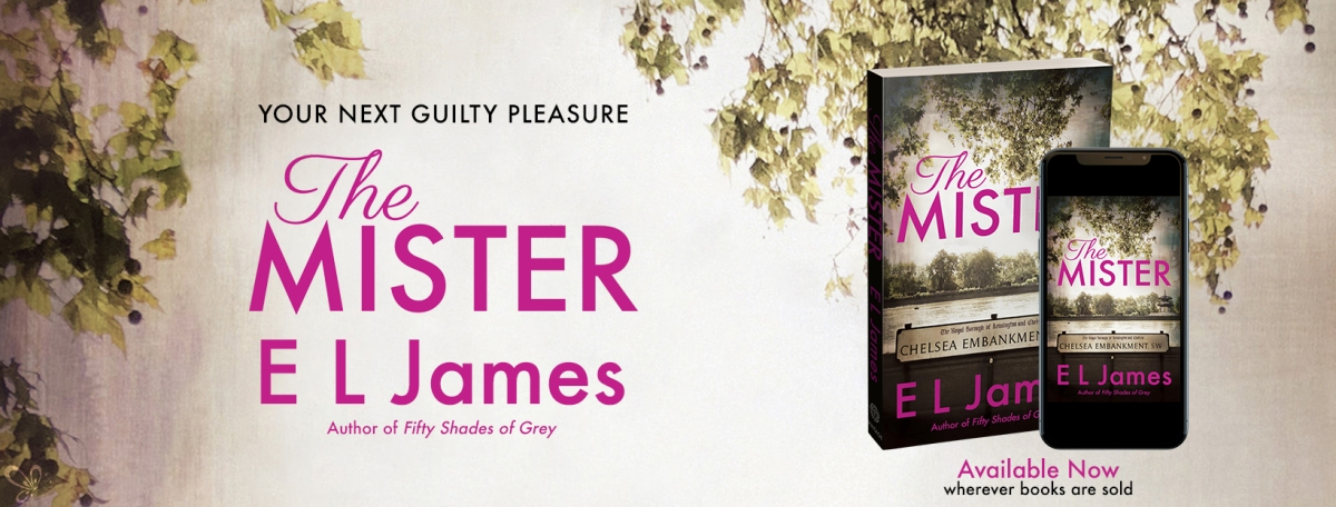 Happy Release Day!! The Mister by E.L.James