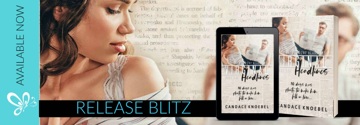 Happy Release Day & Review! Virginal Headlines by CandaceKnoebel