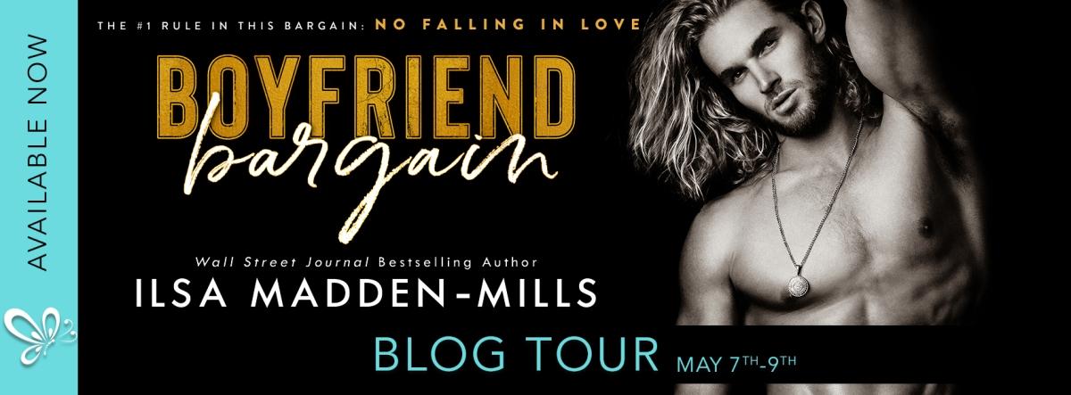 Blog Tour!! Boyfriend Bargain by IlsaMadden-Mills