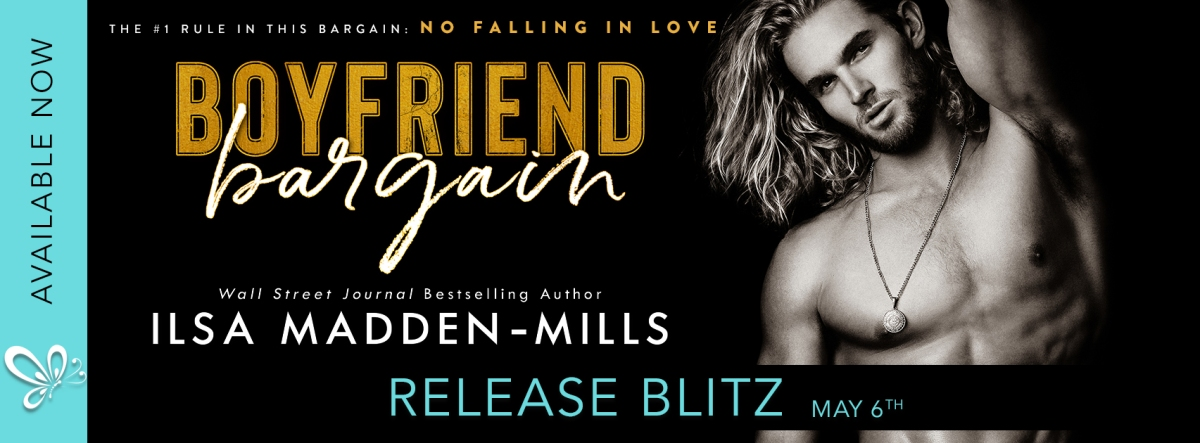 Happy Release Day & Review!! The Boyfriend Bargain by IlsaMadden-Mills