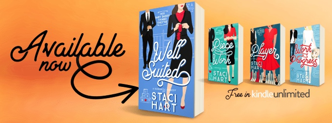 Happy Release Day & Review!! Well Suited by StaciHart