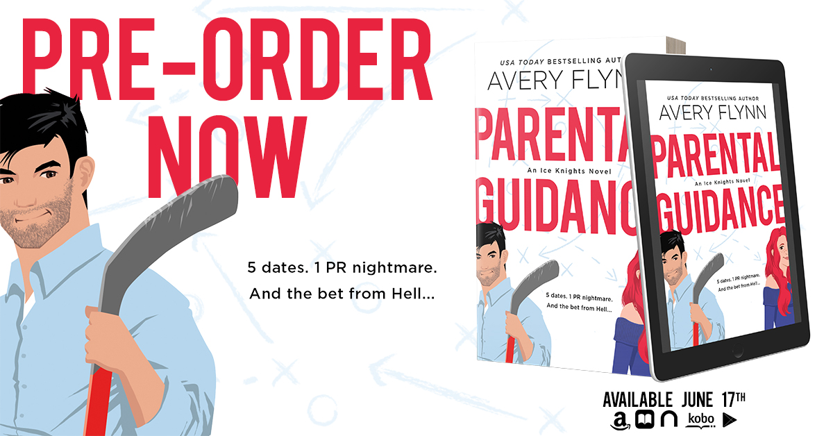Cover Reveal!! Parental Guidance by Avery Flynn