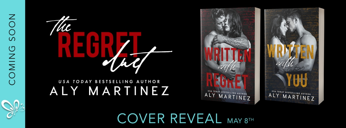 Cover Reveal!! The Regret Duet by Aly Martinez