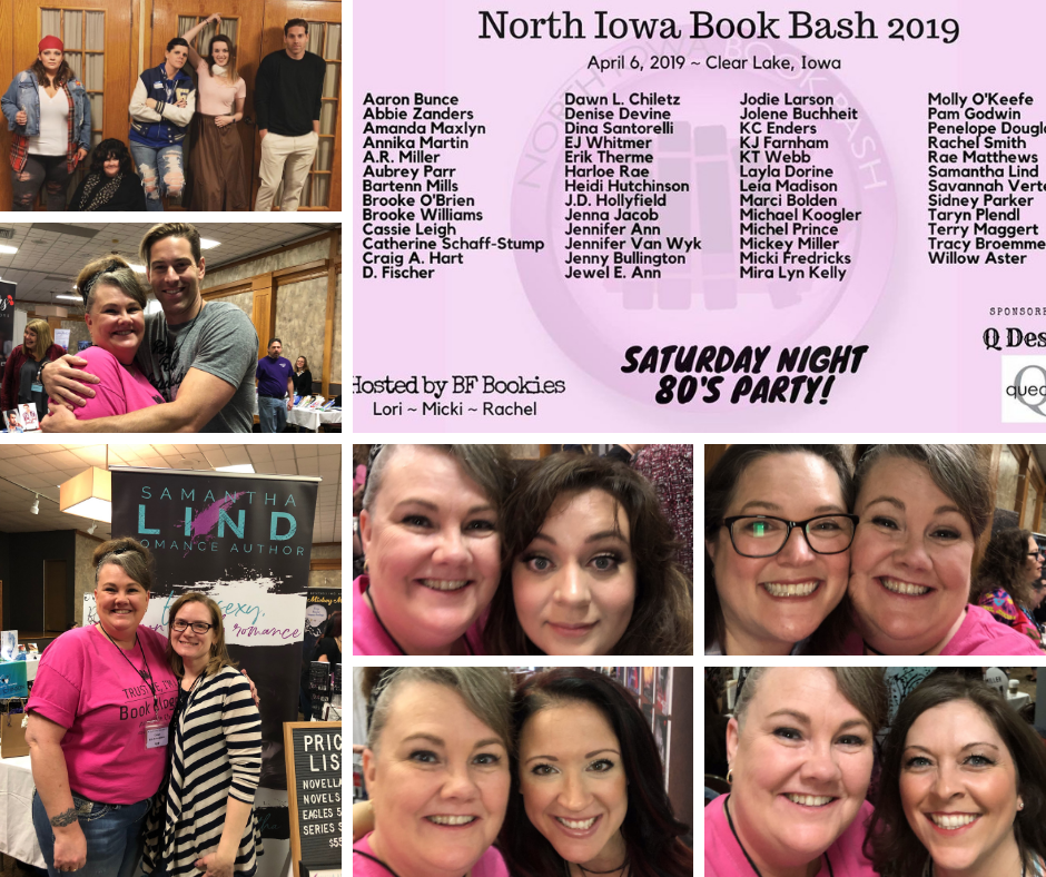 2019 North Iowa Book Bash!!