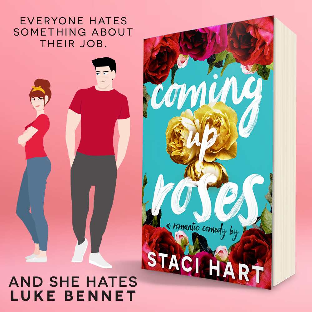 Cover Reveal!! Coming Up Roses by Staci Hart