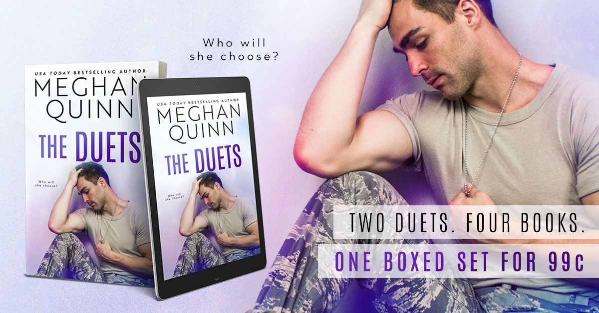 Book Sale!! The Duets by MeghanQuinn